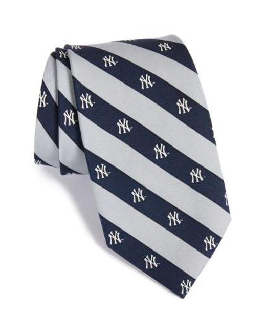 Vineyard Vines   Blue 'new York Yankees - Mlb' Print Silk Tie for Men   Lyst