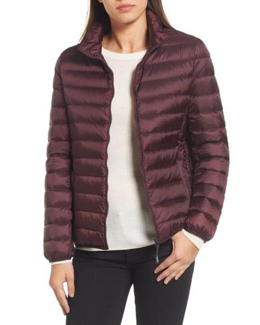 Tumi | 'pax On The Go' Packable Quilted Jacket, Red | Lyst