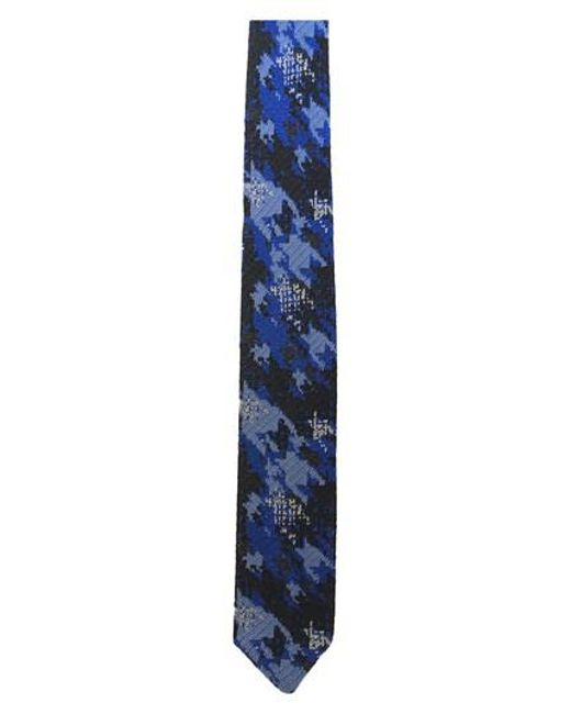 Hook + Albert | Blue Knit Silk Tie for Men | Lyst