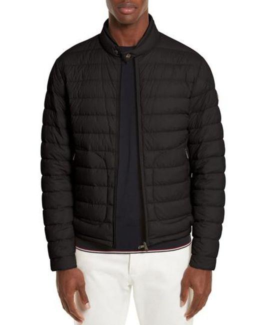 Moncler - Black Acorus Down Jacket for Men - Lyst