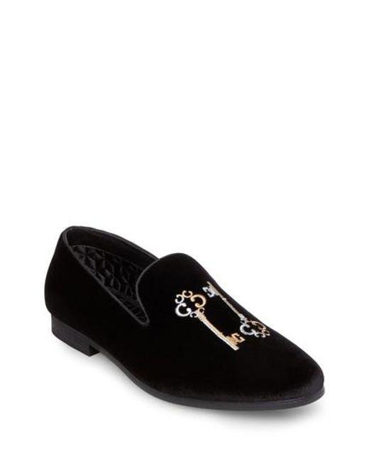 Steve Madden | Black Clue Venetian Loafer for Men | Lyst