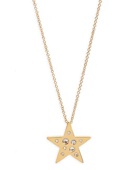 EF Collection - Metallic Diamond Speckle Star Pendant Necklace - Lyst