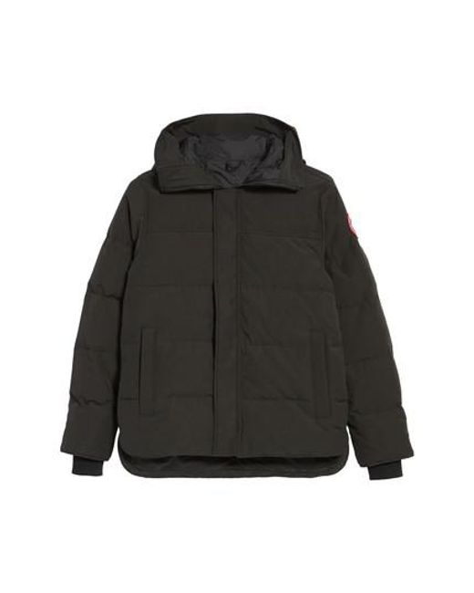 Canada Goose | Green 'macmillan' Slim Fit Hooded Parka for Men | Lyst