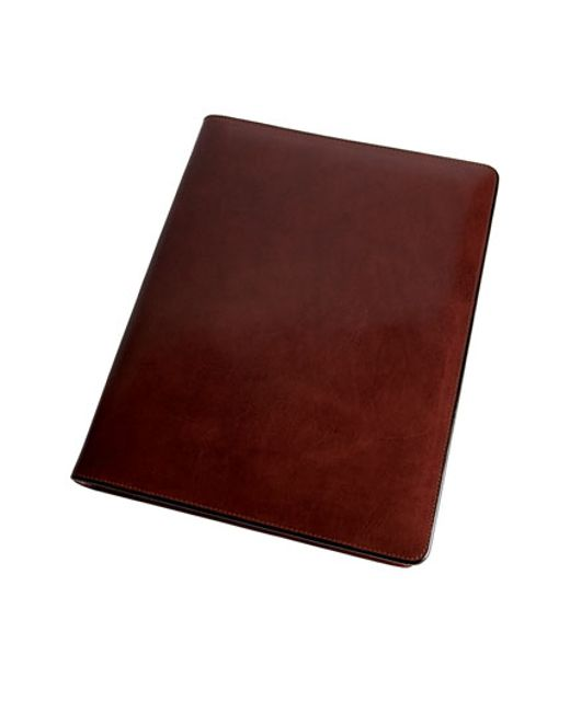 Bosca | Brown Leather Letter Pad Cover for Men | Lyst