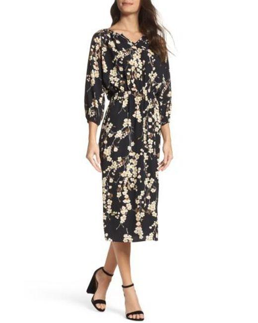 Fraiche By J | Multicolor Floral Blouson Dress | Lyst
