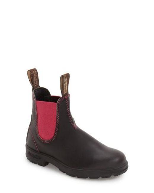 Blundstone | Brown Footwear 'original - 500 Series' Water Resistant Chelsea Boot | Lyst