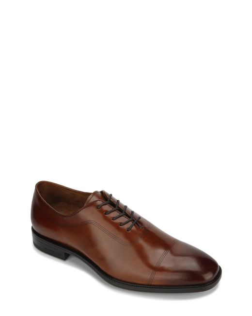 Kenneth Cole - Brown Ticketpod Cap Toe Oxford for Men - Lyst