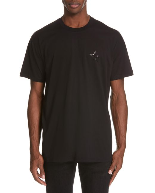 fa73f1beccd5 Lyst - Givenchy Star T-shirt in Black for Men