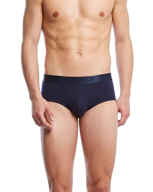 2xist - Blue Pima Cotton Contour Pouch Briefs for Men - Lyst