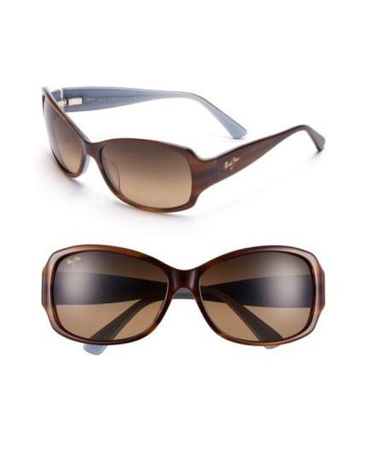 Maui Jim - Brown Nalani 61mm Polarizedplus2 Sunglasses - Lyst