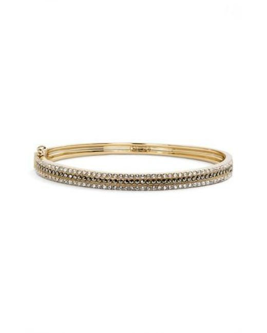 Judith Jack | Metallic Three Row Bangle Bracelet | Lyst