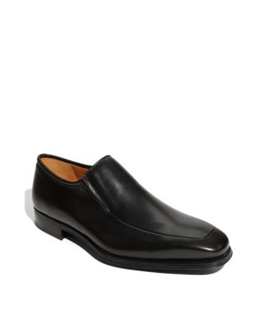 Magnanni Shoes | Black 'dominguez' Slip-on for Men | Lyst