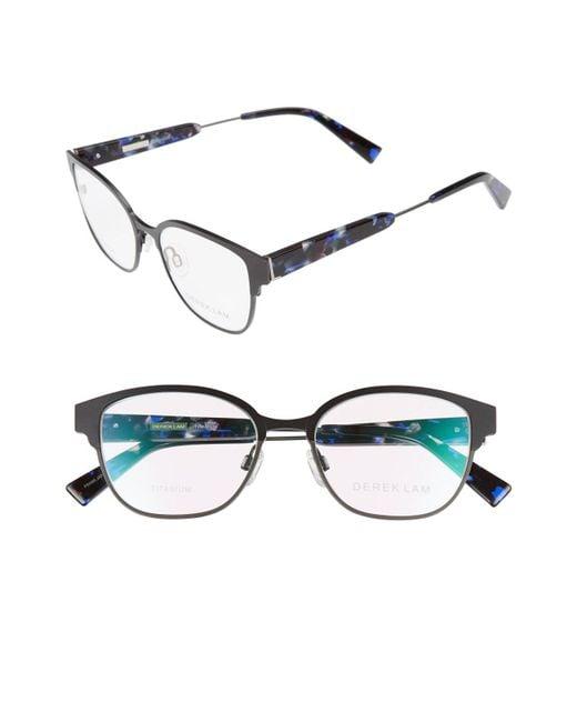Derek Lam - Black 52mm Optical Glasses - Lyst