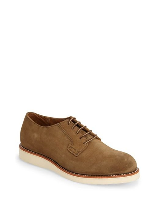 Red Wing | Black 'postman' Oxford for Men | Lyst