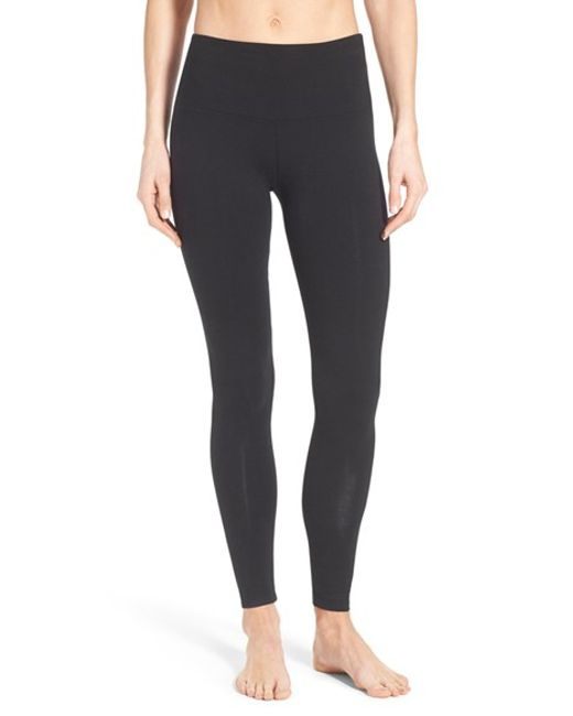 Lyssé | Black Control Top Leggings | Lyst