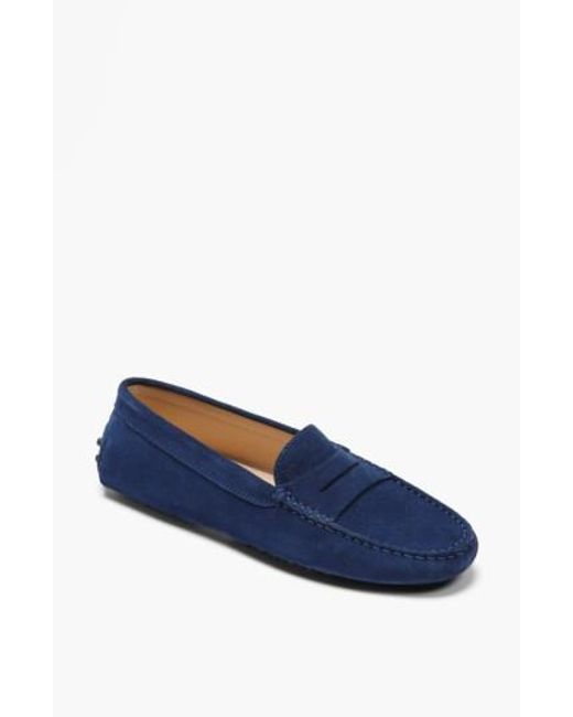 Tod's | Blue 'gommini' Driving Moccasin | Lyst