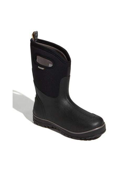 Bogs | Black 'classic Ultra' Mid High Rain Boot for Men | Lyst