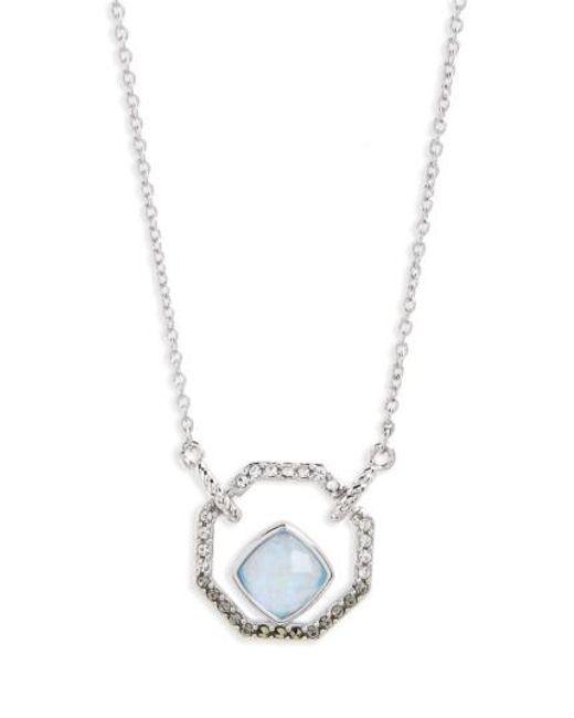 Judith Jack | Metallic Paradise Pendant Necklace | Lyst