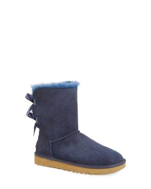 Ugg Multicolor Ugg Bailey Bow Ii Genuine Shearling Boot
