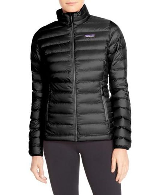 Patagonia | Packable Down Jacket, Black | Lyst