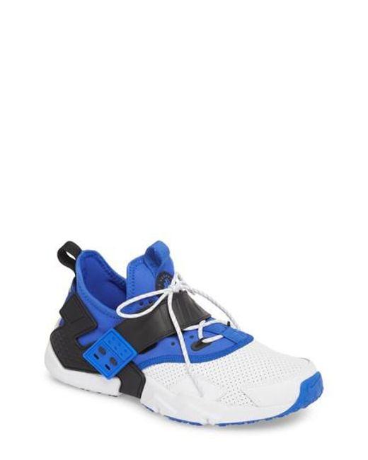 Lyst Air Nike Air Lyst Huarache Drift Premium Zapatillas En Azul Para Los Hombres 58a3d4