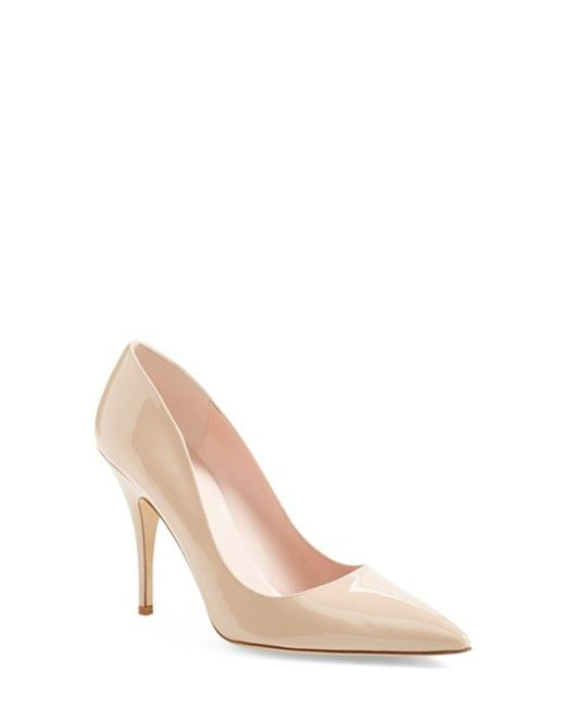 Kate Spade | Natural 'licorice Too' Pump | Lyst