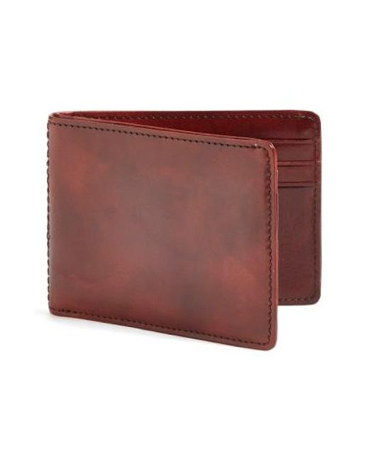Bosca | Brown Small Bifold Wallet for Men | Lyst