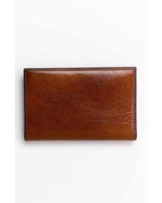 Bosca | Brown Calling Card Case for Men | Lyst
