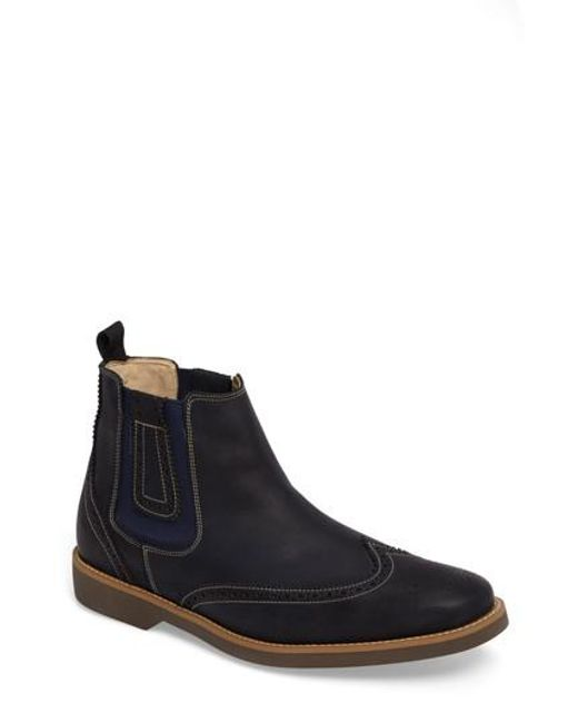 Anatomic & Co | Blue . Gustavo Chelsea Boot for Men | Lyst