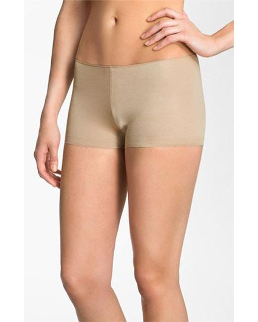Tc Fine Intimates | Natural Wonderful Edge Boyshorts | Lyst