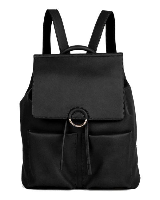 Urban Originals - Black The Thrill Vegan Leather Backpack - Lyst