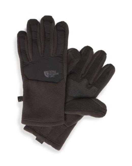 The North Face | Black 'denali' E-tip Gloves for Men | Lyst