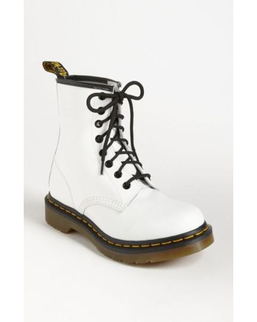 Dr. Martens | Blue '1460 W' Boot | Lyst