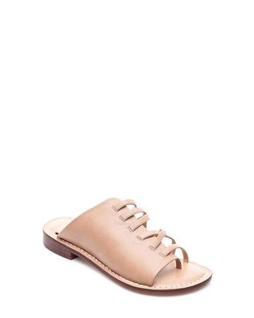 Bernardo | Pink Tori Slide Sandal | Lyst