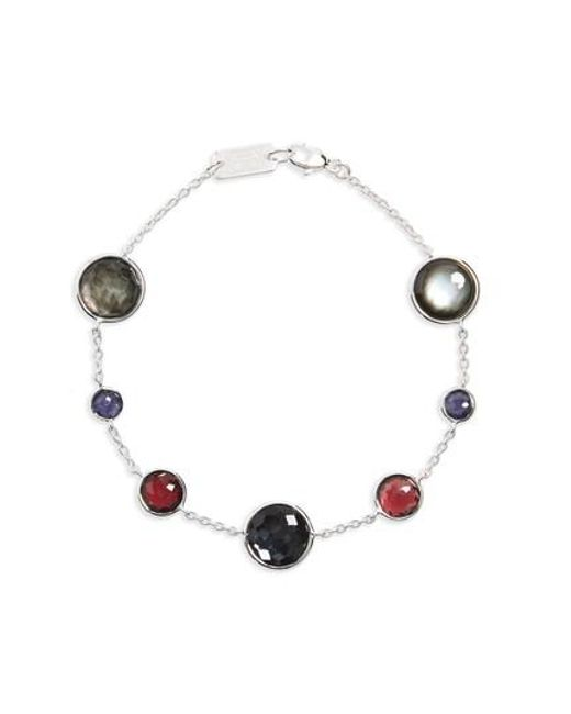 Ippolita | Red Lollipop Station Bracelet | Lyst
