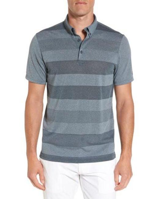 AG Jeans | Blue Hansen Stripe Polo for Men | Lyst