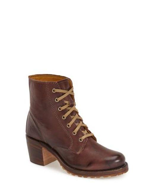 Frye | Brown 'sabrina' Boot | Lyst