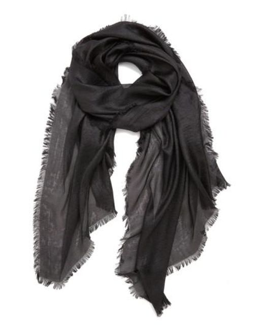 Echo - Black 'radiance' Eyelash Fringe Wrap - Lyst