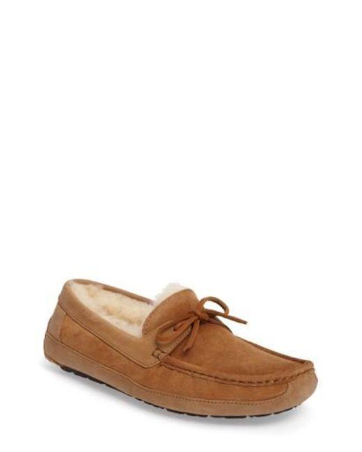 Ugg | Brown Ugg 'byron' Slipper for Men | Lyst