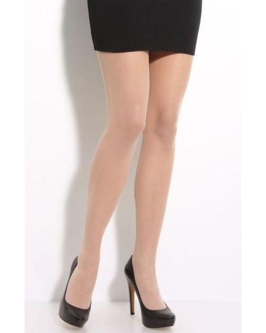 Wolford | Gray Individual 10 Control Top Pantyhose | Lyst