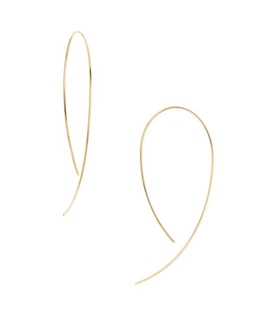 Lana Jewelry | Yellow 'hooked On Hoop' Earrings | Lyst