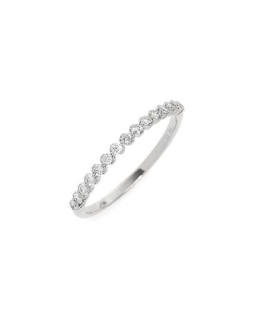 Bony Levy | Metallic Stackable Diamond Ring (nordstrom Exclusive) | Lyst