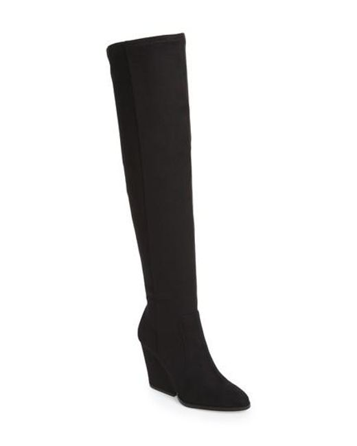 Calvin Klein | Black Catia Over The Knee Boot | Lyst