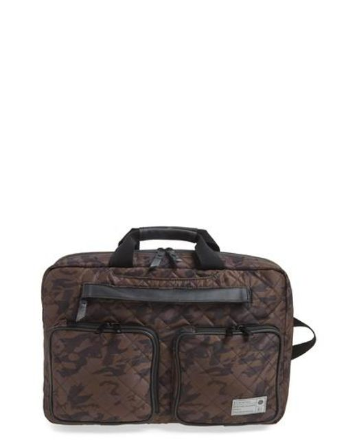 Hex - Multicolor Radar Convertible Water Resistant Briefcase for Men - Lyst