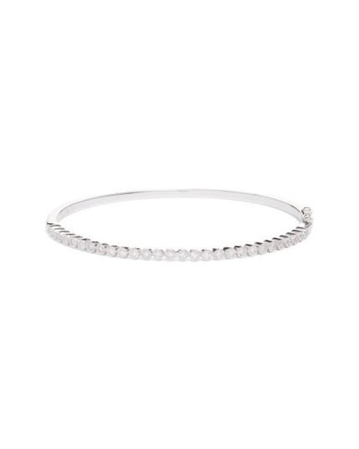 Bony Levy | Metallic Harlowe Circle Diamond Hinge Bangle (nordstrom Exclusive) | Lyst