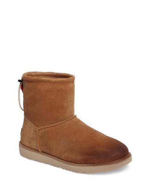 Ugg | Brown Ugg Classic Waterproof Boot | Lyst