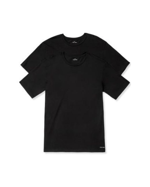 Calvin Klein   2-pack Crewneck T-shirt, Black for Men   Lyst
