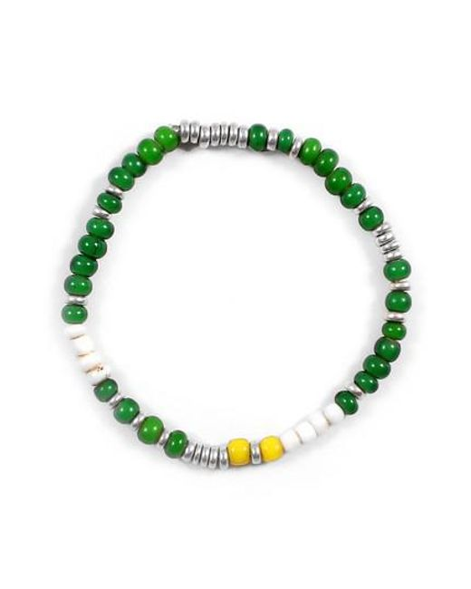 George Frost | Green Chill Morse Bracelet | Lyst