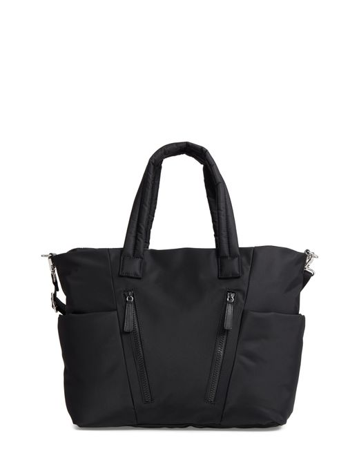 7eff53b996a Lyst - Rebecca Minkoff Ellie Nylon Diaper Bag - in Black