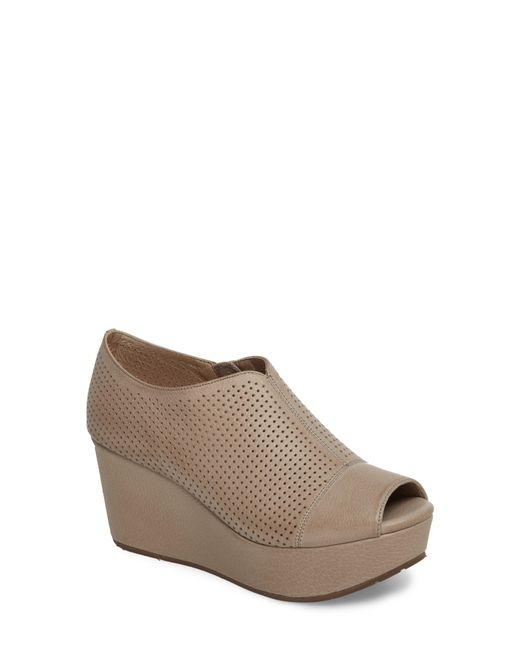 c0f86dbbdd26 Lyst - Chocolat Blu Wheeler Wedge Sandal in Gray